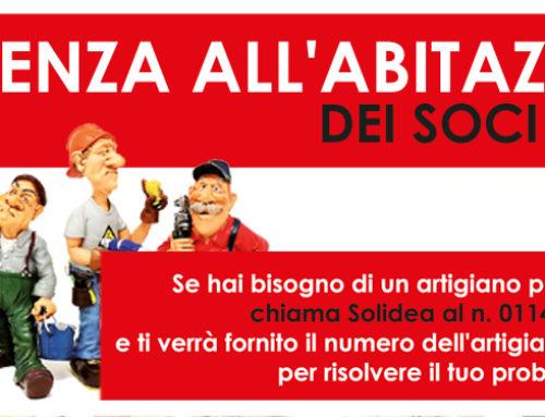 Assistenza all'abitazione dei Soci Solidea