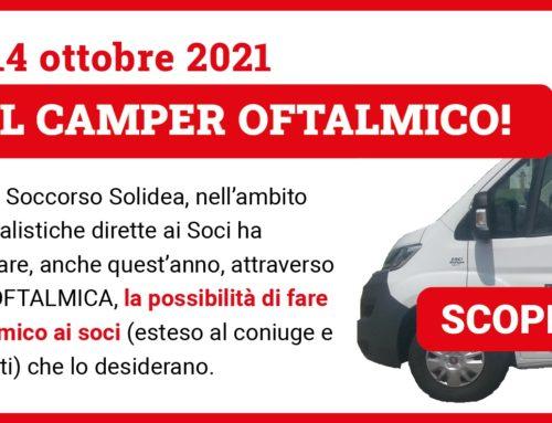 CAMPER OFTALMICO 2021  PER I SOCI SOLIDEA